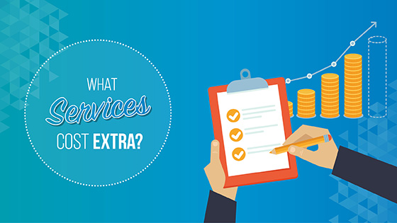 Learn what prospect research services cost extra.