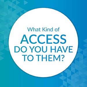 What kind of access do you have to prospect research consultants?