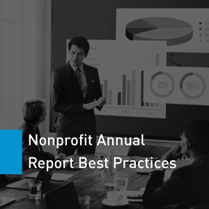 Learn about creating a nonprofit annual report with charitable giving data.