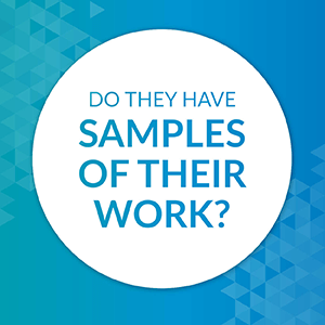 Does your capital campaign consultant have samples of their work?
