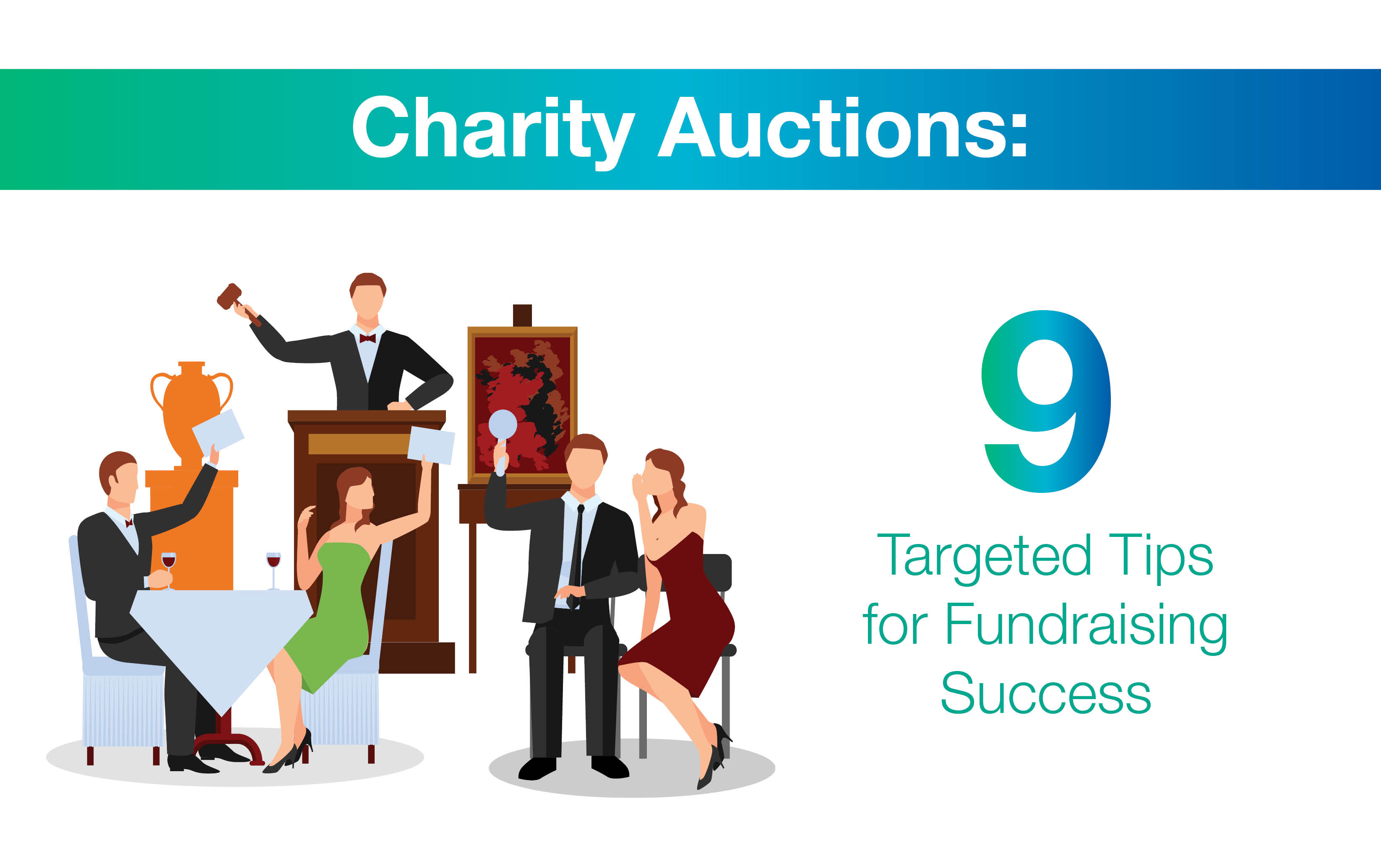 Charity auctions 9 targeted tips for fundraising success for Auction advice