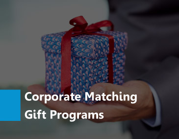 Learn all about corporate matching gift programs.