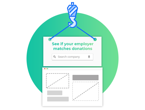 Build your website to enhance your donation pages