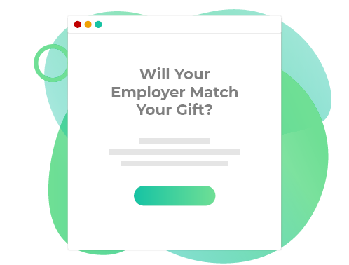 Promote matching gifts through multiple channels