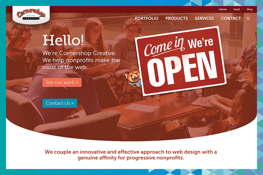 Visit Cornershop Creative's website to learn more about their fundraising consulting services.
