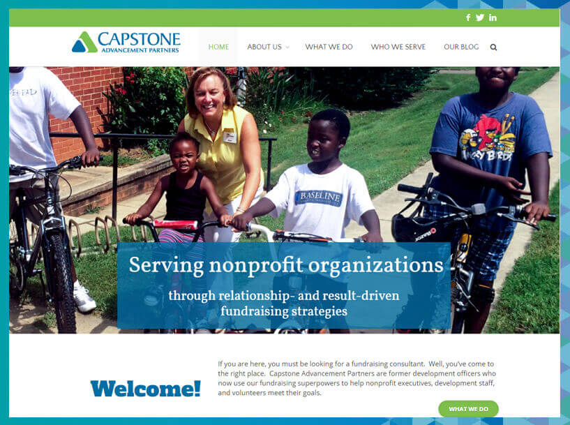 Capstone Advancement Partners offer sustainable development consulting services.