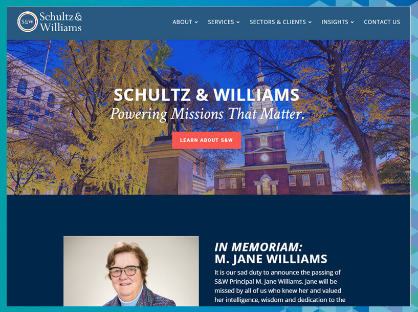 Schultz & Williams fundraising consultants can help your nonprofit develop and manage campaigns.
