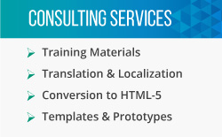 This image displays Artisan E-Learnings e-learning consulting services.