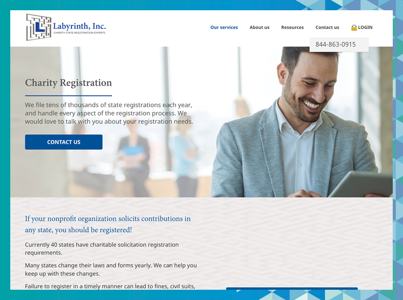 Check out Labyrinth's website to learn more about this fundraising consulting firm.