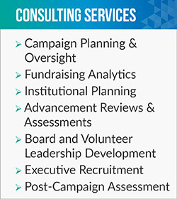 TWB offers fundraising and executive search consulting services,