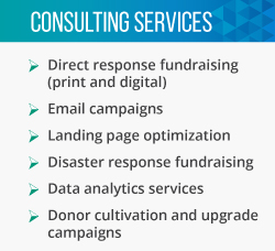Meyer Partners is a fundraising consultant that offers direct mail services.