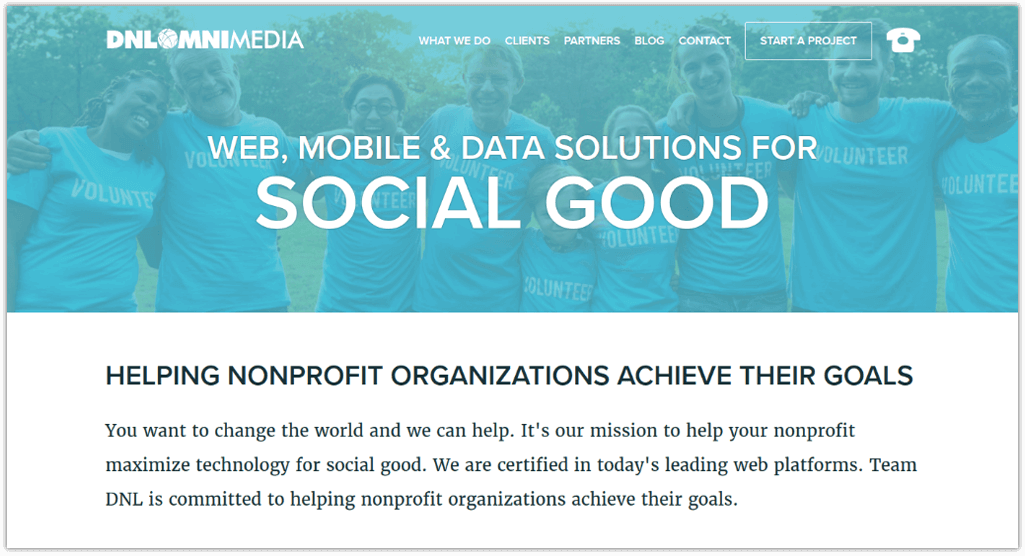 See how DNL OmniMedia's nonprofit web design services can enhance your online presence.