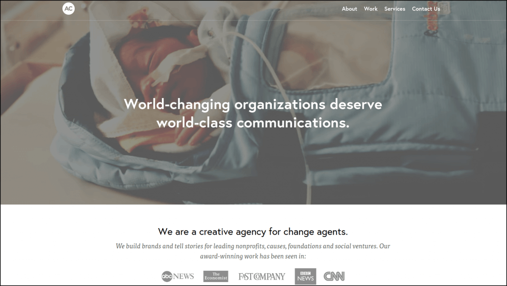 Reach out to Advocate Creative to propose your nonprofit website design project.