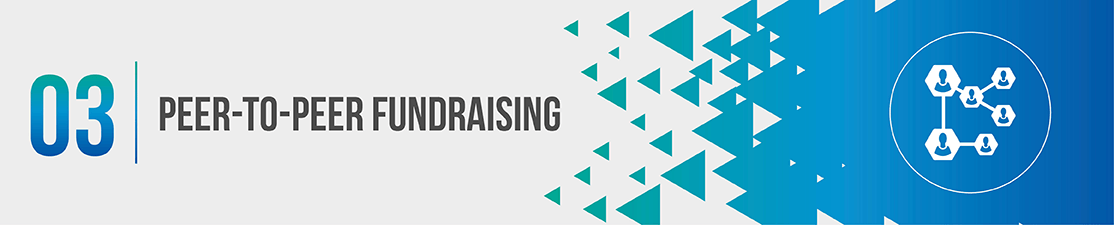 Peer-to-peer fundraising is a type of nonprofit crowdfunding.