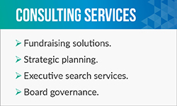 Aly Sterling is a fundraising consultant who offers tons of services for nonprofits.