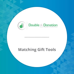 Check out Double the Donation's online giving tools for matching gifts.