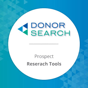 Take a look at DonorSearch's online giving tools.