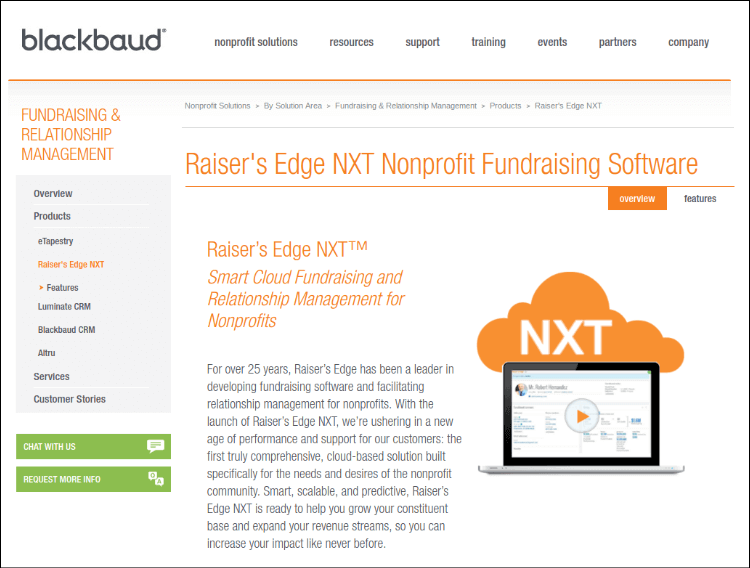 Learn more about the online fundraising tools available with Raiser's Edge.