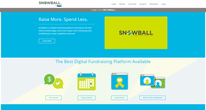 Their use-friendly interface makes Snowball one of our favorite online giving tools.
