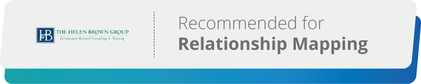 Helen Brown is an expert consultant for relationship mapping.