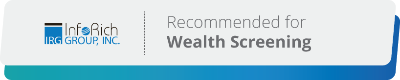 Margaret King is a expert wealth screening consultant at InfoRich Group.