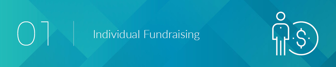Learn more about individual fundraising, a type of crowdfunding for people and nonprofits.