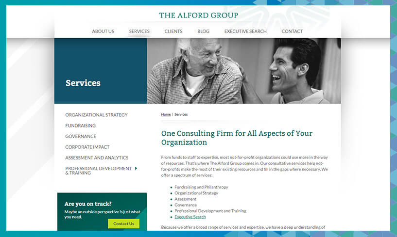 Learn more about Brenda Asare and the consultants at Alford Group.