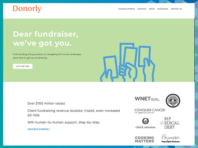 The fundraising consultants at Donorly are experts in donor research.