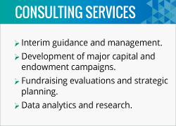 Check out the fundraising consulting services available at CCS Fundraising.