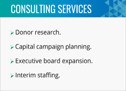 Donorly offers top fundraising consulting services.