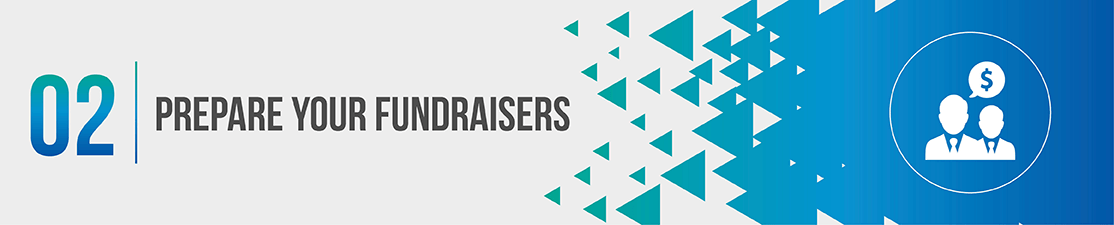 Peer-to-peer fundraising tips - Prepare your fundraisers