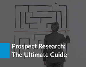 Learn more about prospect research with this guide!