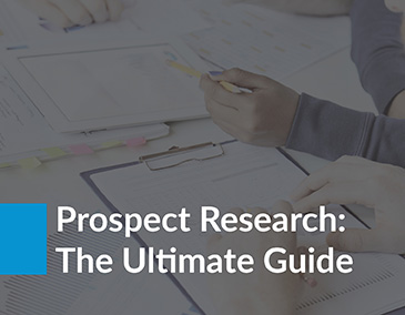 Dive into prospect research after learning about wealth screening.