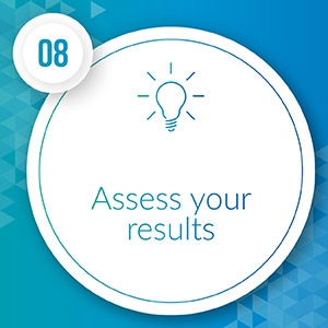 Assess the results of your major gift efforts.