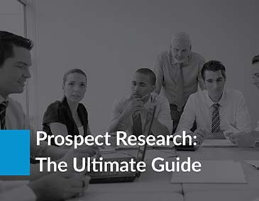 Learn more about how prospect research can help with your capital campaign!