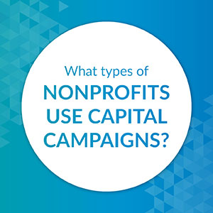 What types of nonprofits use capital campaigns?
