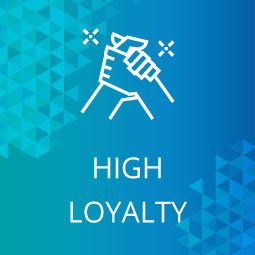 High donor loyalty is a great indicator for your prospect research.
