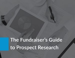 The Fundraiser's Guide to Prospect Research