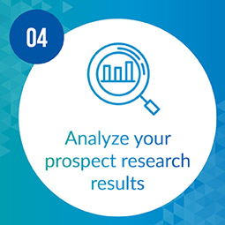 Carefully analyze your results for more prospecting insights.