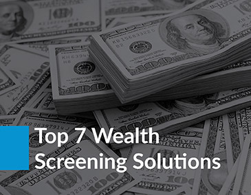 Browse the top 7 wealth screening software solutions.