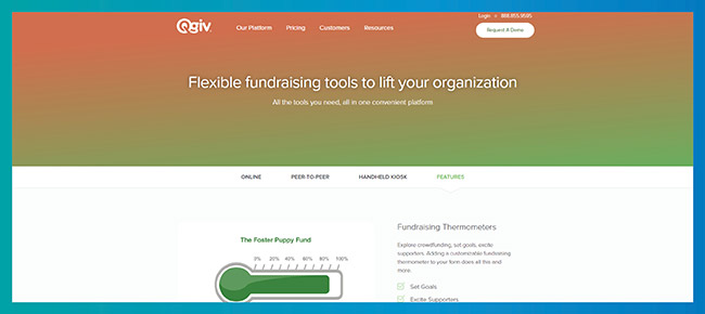 Try Qgiv's fundraising event software for your next fundraiser.