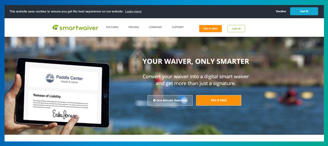 Learn more about Smartwaiver's event software.