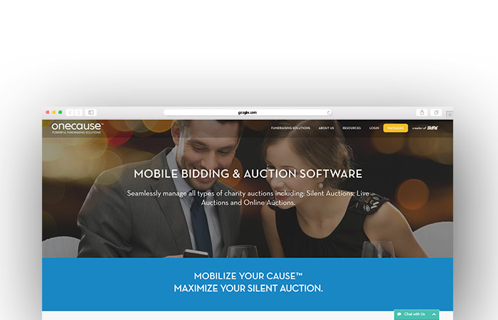 Take a look at OneCause and see how their charity auction website can help your nonprofit.