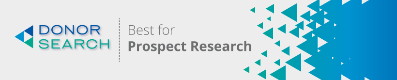 DonorSearch's prospect research tools are our favorite higher education fundraising software solution.