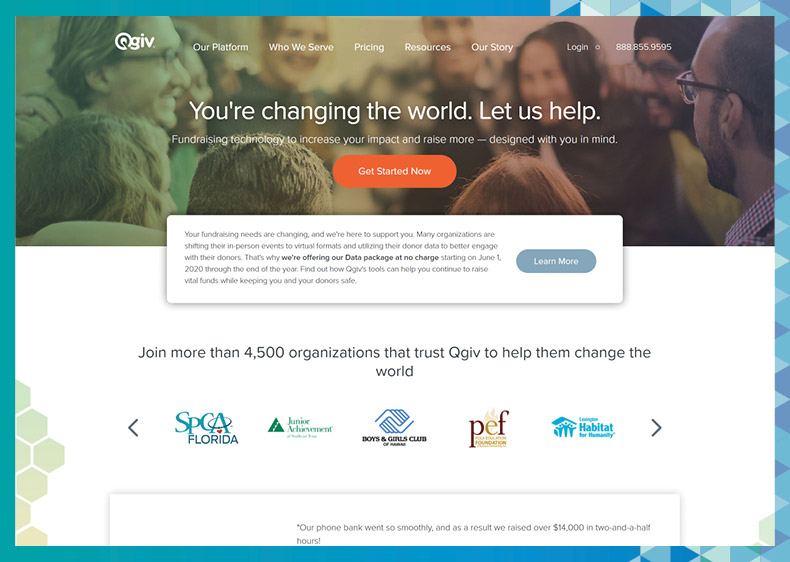Learn more about Qgiv's higher education fundraising software on their website.