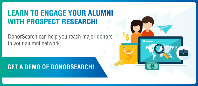 Learn more about how prospect research can help you find your most engaged alumni!