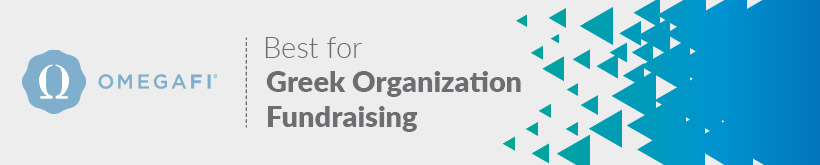 OmegaFi is the higher education fundraising software best for Greek organizations.