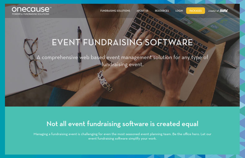 Find out more about OneCause and their higher education fundraising software on the website.