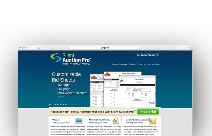 See how Silent Auction Pro's charity auction website can aid your nonprofit.