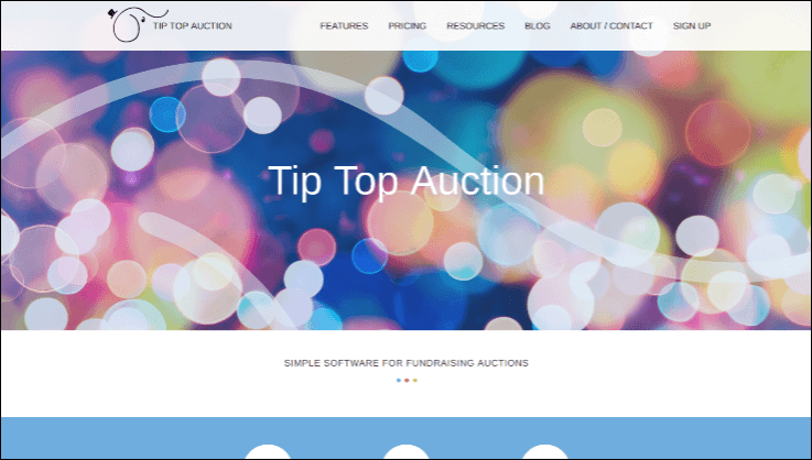 Check out Tip Top Auction's online charity auction software for nonprofits.